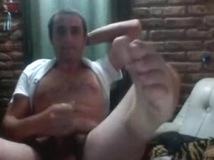 straight guys feet webcam 31