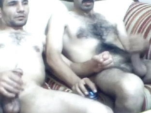 Two Turkish Men Cum