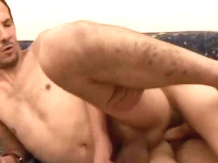 Gay Dude Stroking Hole And Massive Cum load