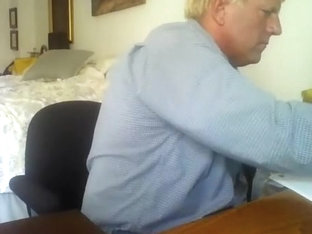 Seductive homosexual is having fun in his room and shooting himself on computer webcam