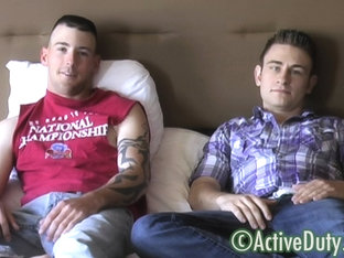 Bryce & Danny II Military Porn Video