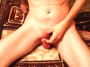 Torture stone - twink jerking cumming and pussy playing