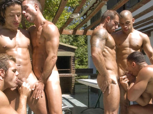 Angelo Marconi & Petter Fill & Austin Wilde & Sebastian Gola & Pedro Andreas in Heat Of The Moment.