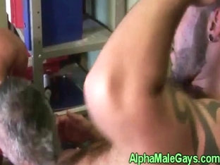 Gay hunky duo sucking each others dicks