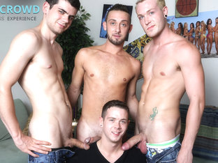 Blake Savage & Jason Ackles & Kaydin Bennett & Billy Ramos in The In Crowd Video