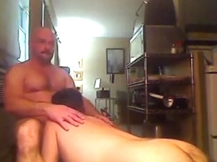 Hairy assed bottom