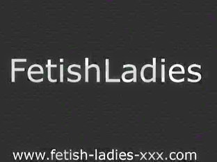Mature Fetish Ladies toying assholes