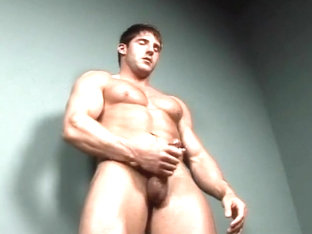 Jeremy Walker Tugging Cock