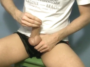 Wanking In Shorts