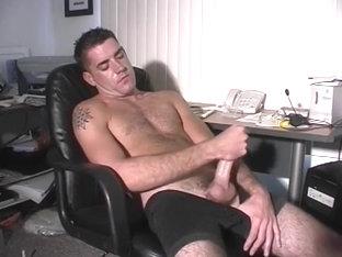 Hairy Stud Matt Fingers His Ass On Cam
