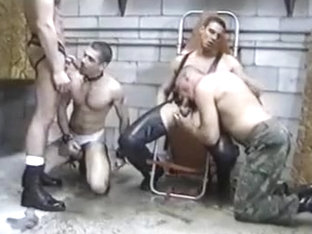 Hottest male in exotic group sex, handjob gay xxx clip