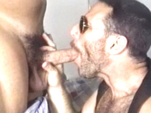 Hottest male pornstar in amazing blowjob, bears gay adult clip