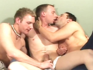 His First Sexy Gay Man Threesome