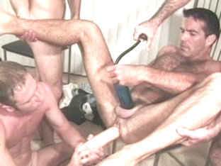 Best male pornstar in horny dildos/toys, frat/college gay sex clip
