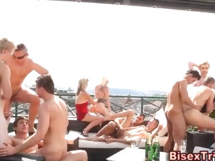 Bisex dudes sucking and fucking
