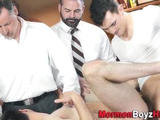 Elder punished with cock