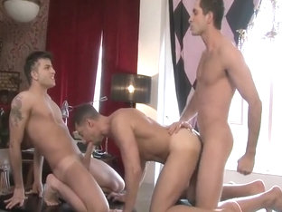 Michael Lucas, Harry Louis, and Dean Monroe