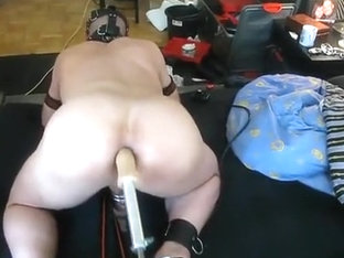 Master fucks slave with machine again