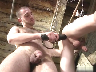 Hot twinks domination with cumshot