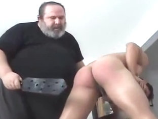 Very hot guy spanked