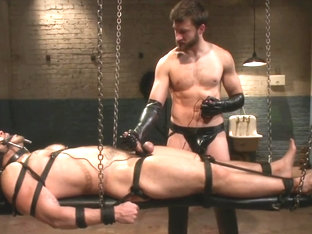 Sub trained and fucked by his rubber master