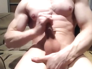 muscle fantasy jerk off spunk fountain (pt.three)