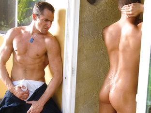 Bryce Star & John Jockson in Peeping Repairman Scene