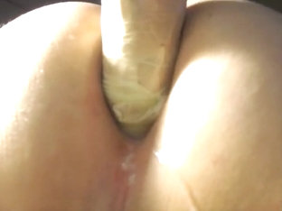 CONDOM BROKE IN MY TIGHT ASS