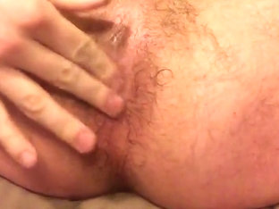 Working over hairy ass mostly hands free cum