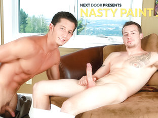 Mark Long & Drake Tyler in Nasty Paint Job XXX Video