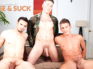 Alexander Gustavo & Johnny Smash & Jason Maddox in Rise & Suck XXX Video