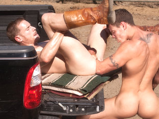 Billy Berlin & Jesse Santana in Ranch Hands, Scene #02