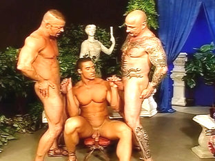 Three Guys Fuck For The Kinds Pleasure