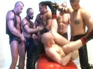 Leather Mask Orgy