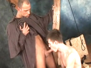 Amazing male in horny fetish gay sex clip