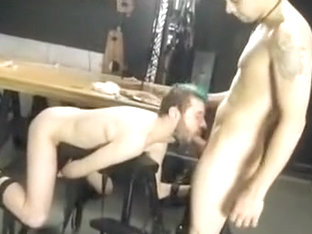 Horny male in crazy fetish, blowjob gay adult movie