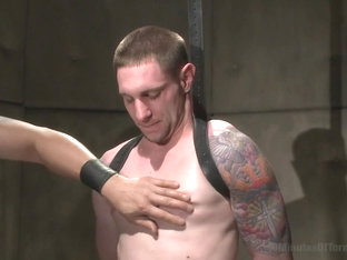 30 minutes Of Torment. Stud with a 10 inch fat cock gets torment to the extreme