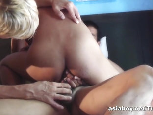 AsiaBoy Video: Asian and European Bareback