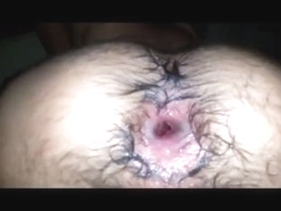 Two Cocks One Hairy Asshole and a Whole Lotta Cum