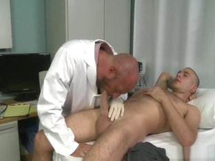 Big Dick Patient Fucks Doctor