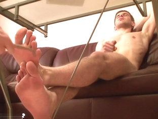 Jake Feet Tickle Punishment - Russian