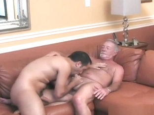 Grandpa has dirty sweat sex with a hot young jock