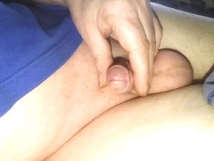 I play with my small dick and i have a little orgasm.