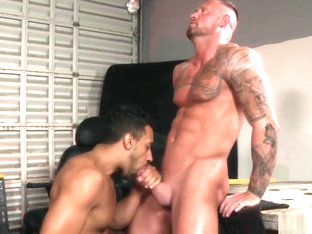 ExtraBigDicks Large Meat Comes Out of Jock Strap 4 DILF Ass