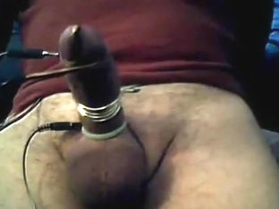 electro & poppers cum my large hard uncut dong