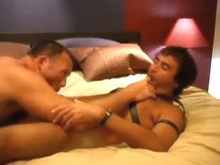 Hot bear and leather fuck
