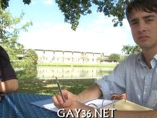 Extremely hot gay fucking