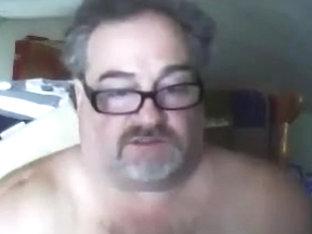 Sexy Mature Bear Cums