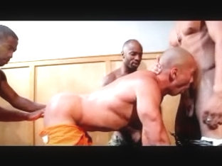 3 Black Hard Cocks For One Tight Ass
