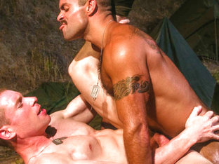 Steve Cruz & Billy Berlin in Grunts Brothers In Arms, Scene #06